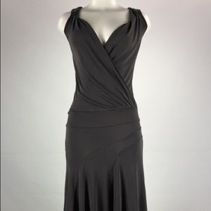 Ted Baker Gray 1920s style dress